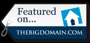 Featured on TheBigDomain.com